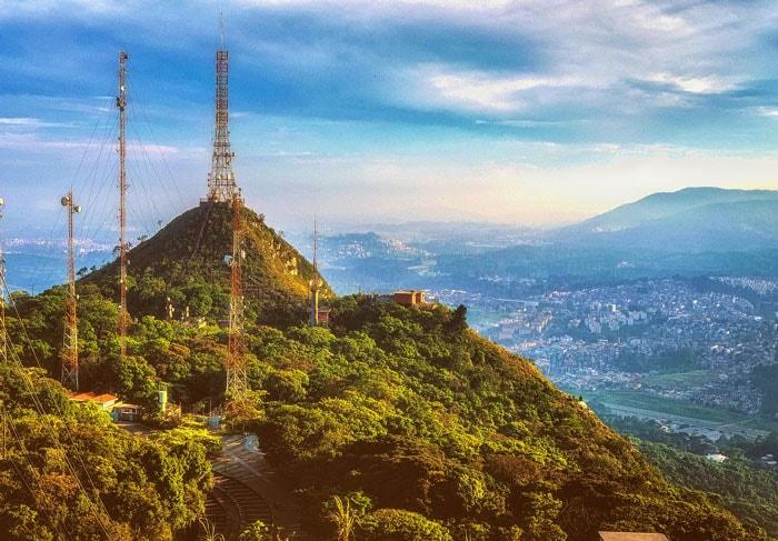Jaraguá Peak in São Paulo, Brazil
