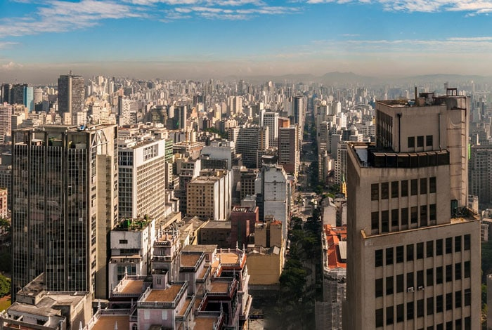 Things to see in Sao Paulo, skyline