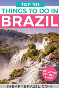 What is there to do in Brazil Pinterest graphic