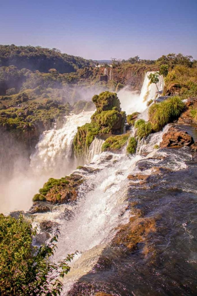 Visiting the Iguazu Falls is one of the best things to do in Brazil