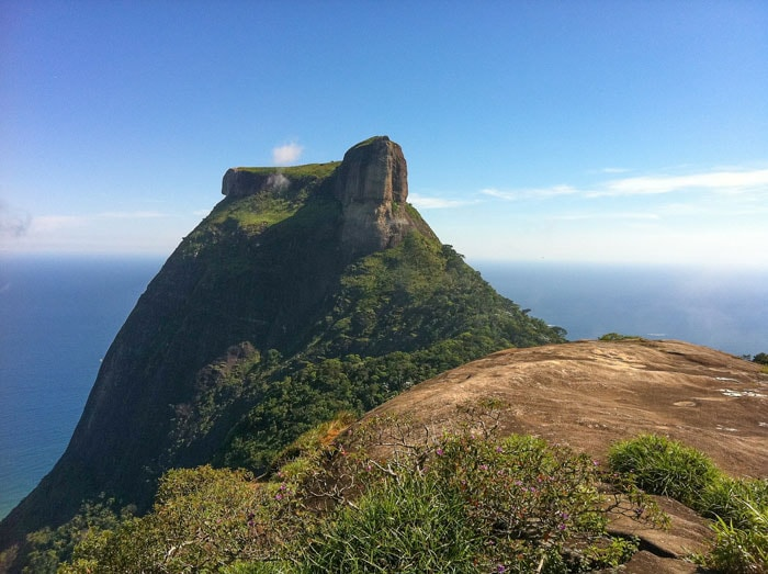 Pedra da Gávea is one of the most famous places in Brazil to go hiking