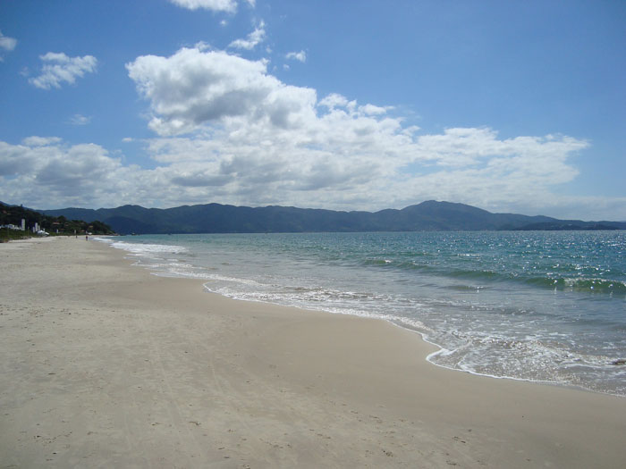Bombinhas beach in Santa Catarina