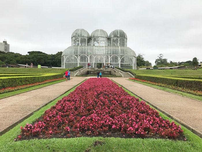 Botanical garden in Curitiba
