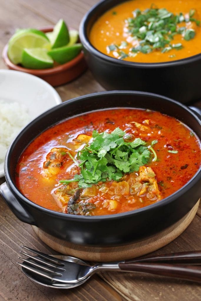 Brazilian fish stew, moqueca