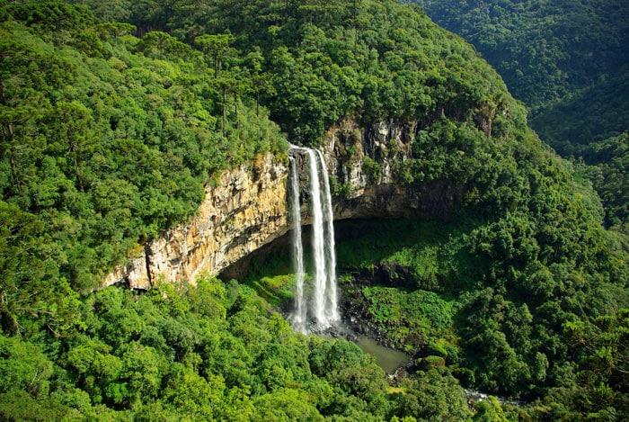 Caracol Falls in Rio Grande do Sul