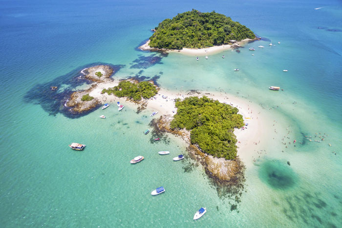Cataguases Island in Angra dos Reis