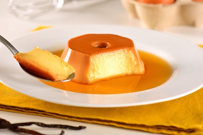 My favorite food in Brazil, condensed milk pudding