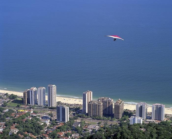 Adventure and hang gliding in Rio de Janeiro, Brazil