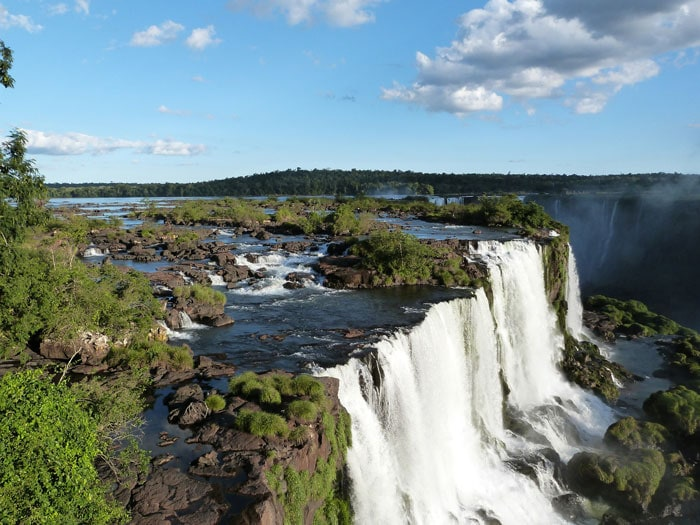 Travel to Brazil to see the Iguazu Falls