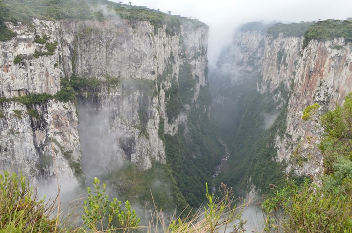 Itaimbezinho Canyon in Brazil, beautiful scenery