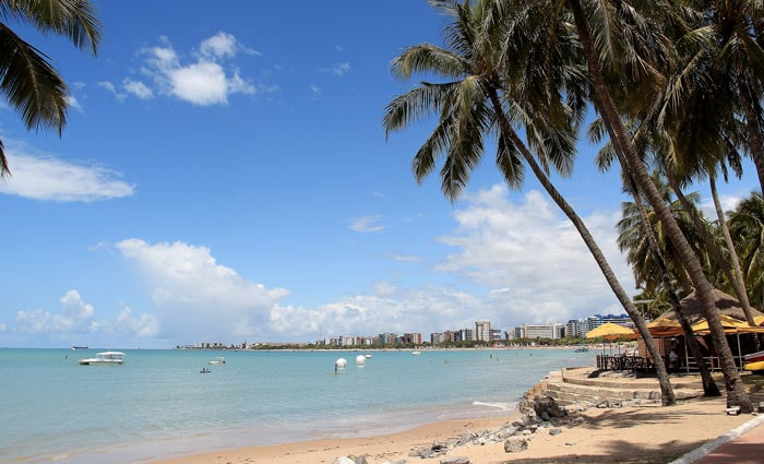 Maceió beach