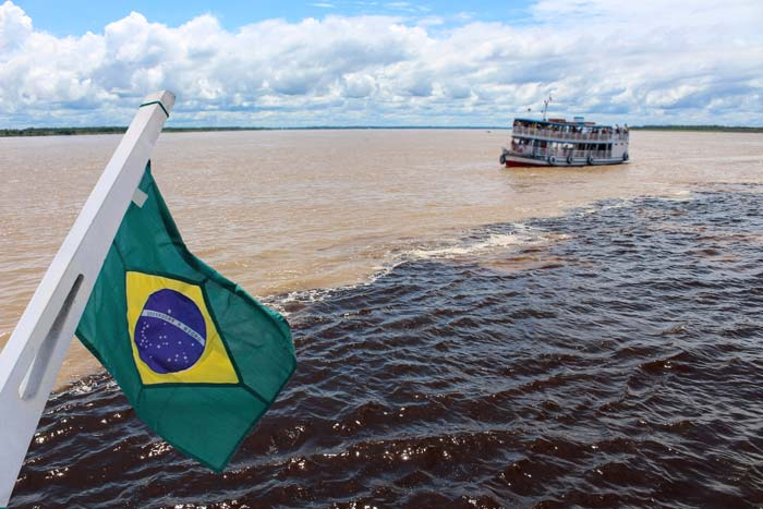 Include the Meeting of the waters in your trip to Brazil