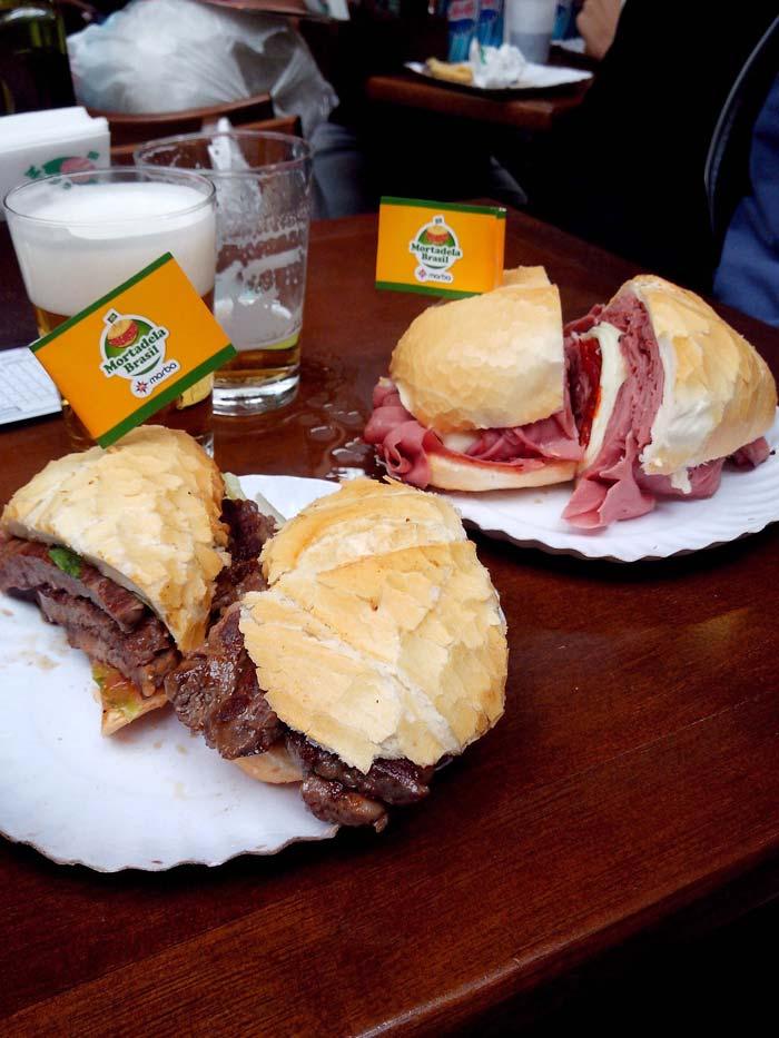 Baloney Sandwich at Mercadão, São Paulo