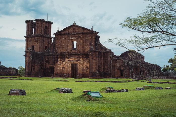 Ruins of São Miguel missions