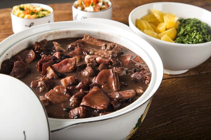 Feijoada is the most traditional Brazilian dish