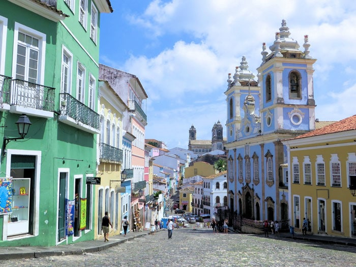 Pelourinho in Salvador, Bahia