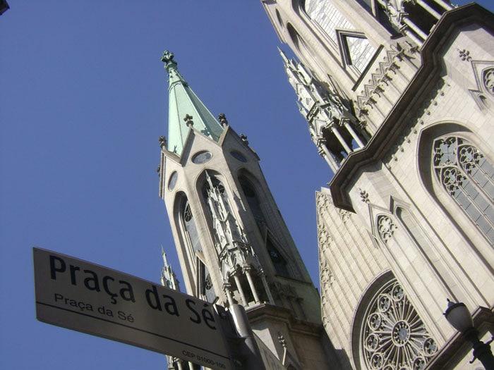 São Paulo Cathedral at Sé Square