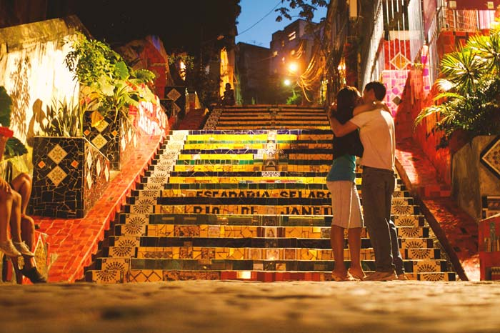 When you visit Brazil, you must visit the Selaron Steps in Rio de Janeiro
