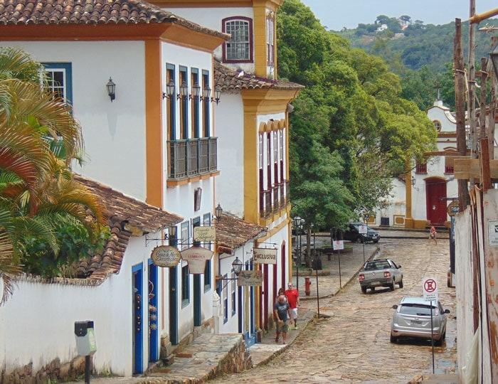 Tiradentes is a colonial town in Minas Gerais, Brazil