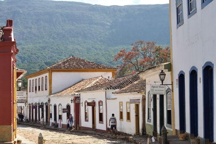 Tiradentes town in Minas Gerais