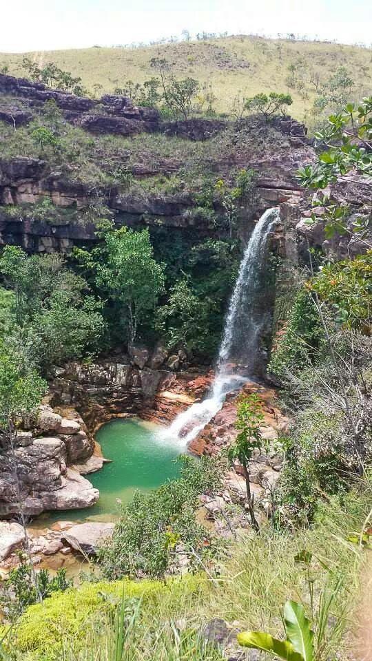 Urucá Falls in Roraima
