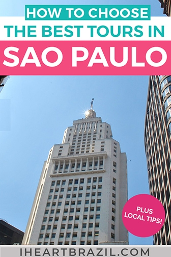 Sao Paulo tours Pinterest graphic