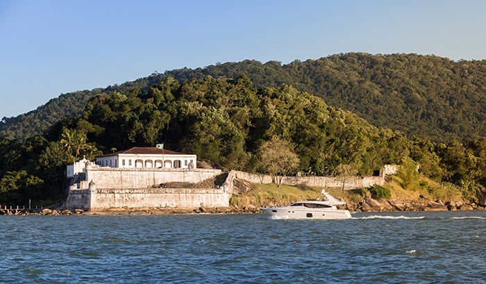 Santo Amaro Fortress in Guarujá