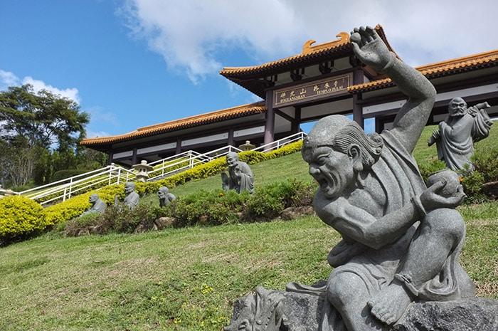 Zu Lai Buddhist temple in São Paulo
