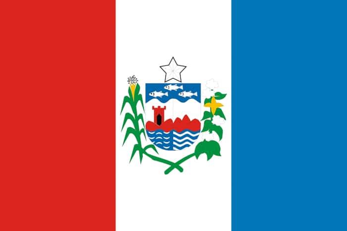 Alagoas Brazil State Flag