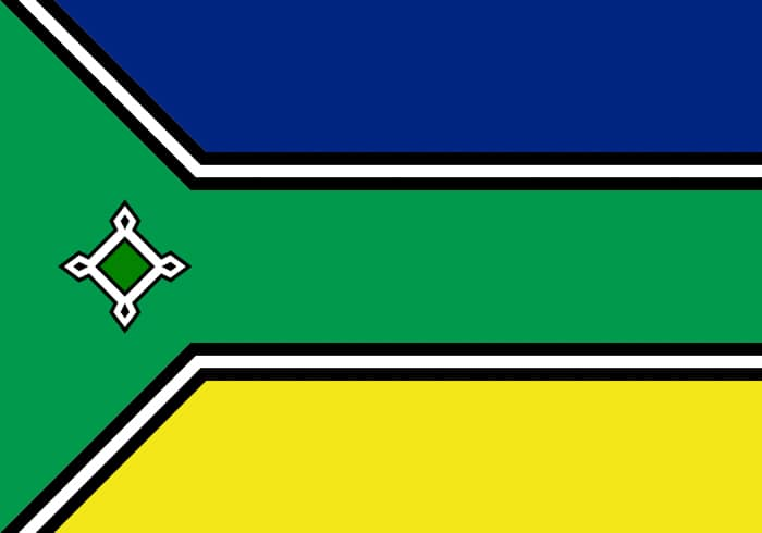 Amapa Brazil State Flag