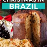 Christmas traditions in Brazil Pinterest graphic