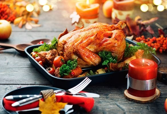 Brazilian Christmas food, turkey