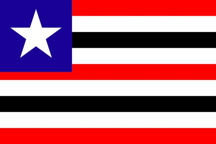 Maranhao Brazil State Flag