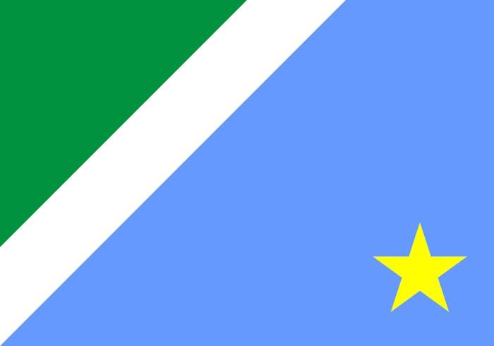 Mato Grosso do Sul Brazil State Flag