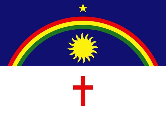 Pernambuco Brazil State Flag