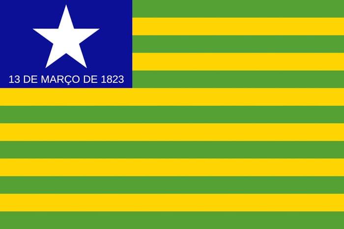 Piaui Brazil State Flag