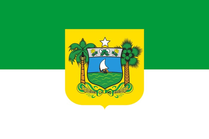Rio Grande do Norte Brazil State Flag
