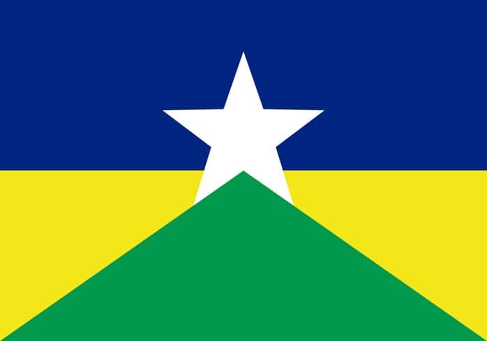 Rondonia Brazil State Flag