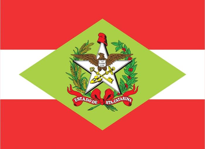 Santa Catarina Brazil State Flag