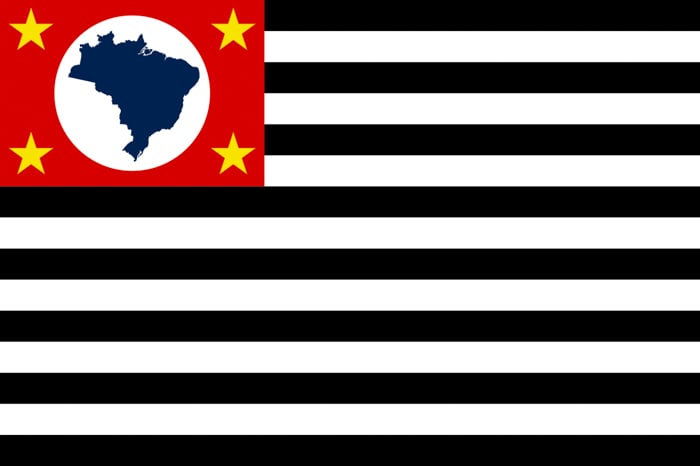 Sao Paulo Brazil State Flag