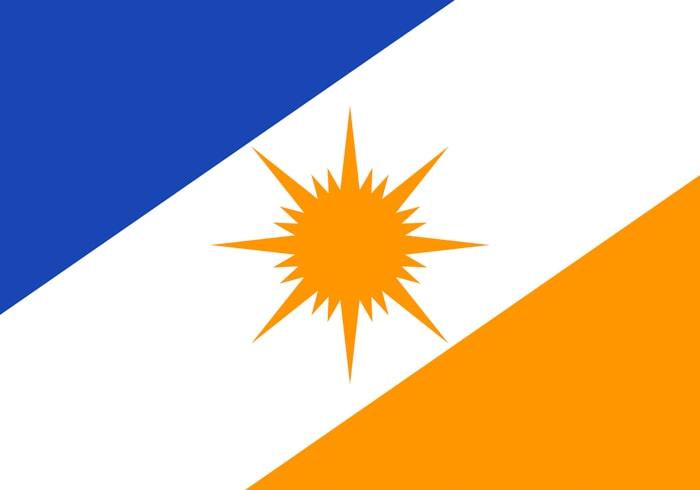 Tocantins Brazil State Flag