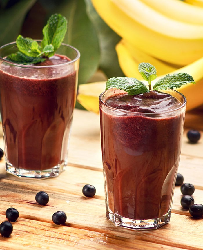 Açai juice, a tasty Brazilian drink