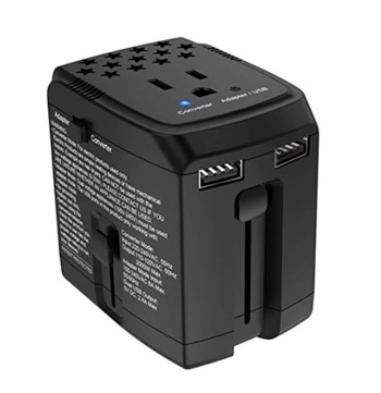 Pack for Brazil a travel adapter