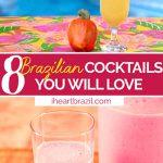 Brazilian cocktails Pinterest graphic