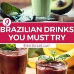 Brazilian drink Pinterest graphic