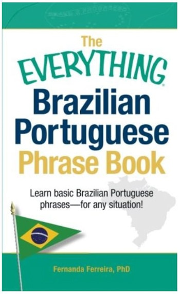 Brazil packing list, Brazilian Portuguese book