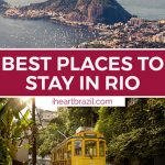 Where to stay in Rio de Janeiro Pinterest graphic