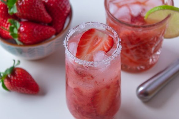 Strawberry caipirinha recipe