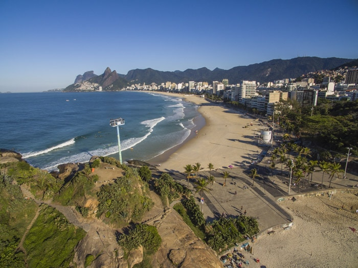 View of Ipanema Beach from Arpoador, one of the best things to do in Rio de Janeiro
