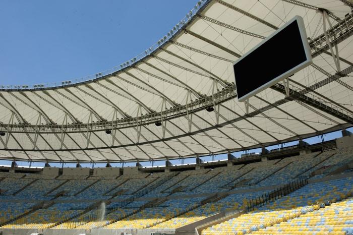 Maracanã Soccer Stadium in Rio de Janeiro